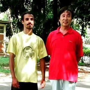 Jerônimo Marana e mestre Cai Wen Yu