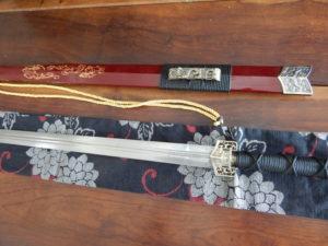 corte com espada