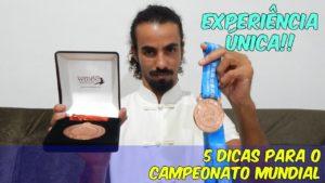 5 Dicas Para o Campeonato Mundial de Wushu